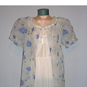 Vintage 1950's Peignoir Set by Tula Designers Collection