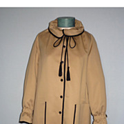 1970's NOS All Weather Coat Made By Lassie Junior Coats