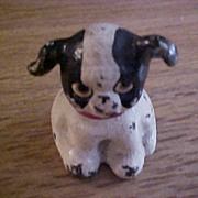 Hubley Cast Iron Miniature Puppy Dog Fido Paperweight