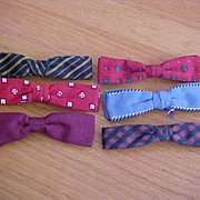 Mens Vintage  Bow Ties - Hart, Ormond, Royal, Best  - Rust Resistant