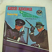 SALE The Green Hornet Coloring Book, Kato's Revenge