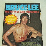 SALE Bruce Lee Magazine, His Privacy And Anecdotes