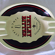 SALE Large Vintage Ashtray Tetley Bitter