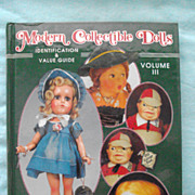 SALE Modern Collectible Dolls ID & Price Guide, Volume 3 by Patsy Moyer