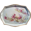 Signed �E. Olmsted� Silesia Hand-Painted Porcelain Tray Circa 1925