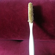 Antique Bone Hat Brush Circa 1880's