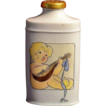 Hand-Painted  Porcelain Baby Powder Shaker