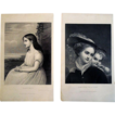 Clarinel  and Something of A Flirt 19th Century Engravings
