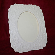 Vintage Lenox Porcelain Picture Frame