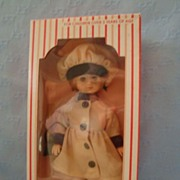 SOLD Vogue Ginny MIB Wearing Tan Coat and Hat