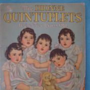 "Vintage Dionne Quintuplets Book ""We're Two Years Old"""