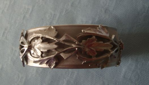 Whiting and Davis Silvertone Bracelet
