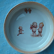 Vintage Kewpie Baby Dish
