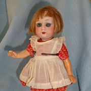 Sweet Little German Bisque Gebruder Heubach Girl Doll