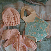 SOLD Lot of Dy-dee baby clothes and 3 Patterns