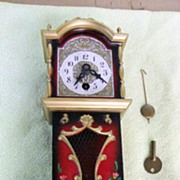 Vintage Linden Mini Clock