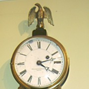Little & Eastman Banjo Clock Boston, MA c. 1907