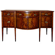 Rhode Island Federal Inlaid Mahogany Sideboard ca. 1790-1815