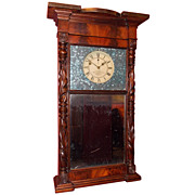 19th c. Munger & Benedict New York Shelf Clock