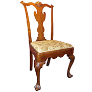 Philadelphia Chippendale Walnut Dining Chair, circa 1760-1770