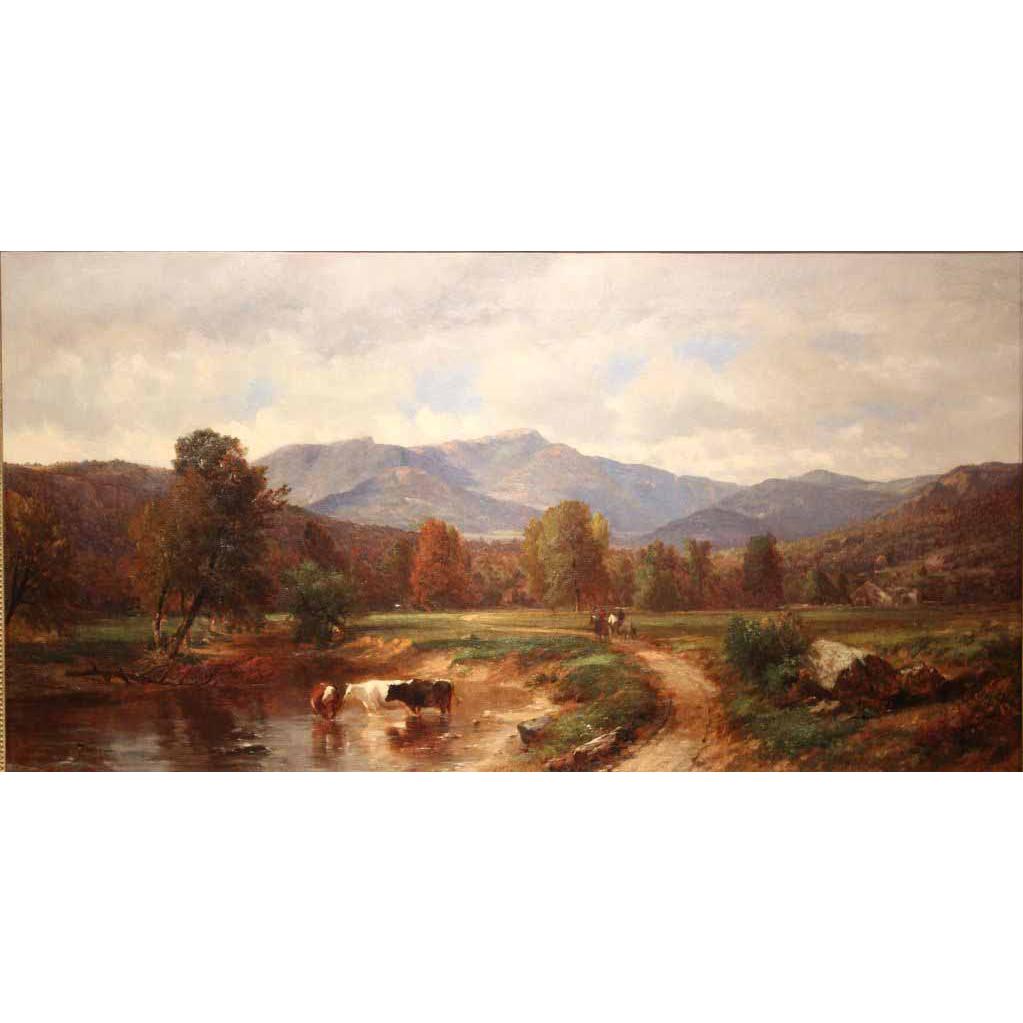 Samuel Lancaster Gerry Oil Painting Landscape Mt