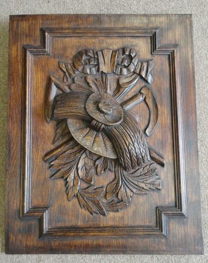 19th Century French Antique Decorative Panel