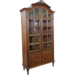 19th Century French Antique Walnut Bookcase
