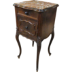 19th Century French Antique Rococo Nightstand