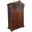 19th Century French Antique Oak Armoire