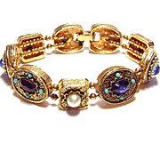 Vintage ART ~ Charm Slide Bracelet