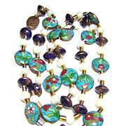 Vintage Chinese Cloisonn� Beaded Necklace