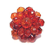 Antique Victorian Natural Amber Brooch