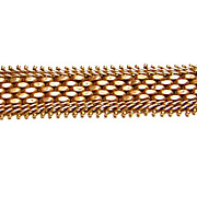 Fine Hand Crafted Antique 14k Gold Watch Chain