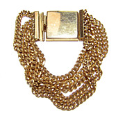 Reinad 5th Av. N.Y. ~ Multi Chain Buckle Style Bracelet