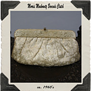 1960's Morris Moskowitz Brocade Evening Clutch