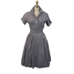 Vintage 1950's Laura Mae Life Blouse Gingham Day Dress