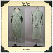 1960's Sack Coat Dress by Jane Parker Junior