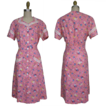 1940s Princess Peggy House Dress New Old Stock