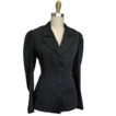 ca. Edwardian Spectator Jacket in Black