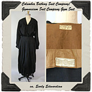 Edwardian Columbia Gymnasium and Bathing Suit Co. Gym Suit