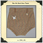 1930s Men's Swim Trunks NOS