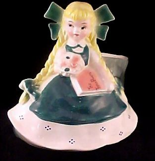 Goldilocks Full Figurine Planter