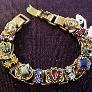 Vintage Multi Colored Bracelet