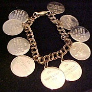 Vintage Ten Commandment Bracelet