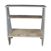 Antique Painted Bucket Bench