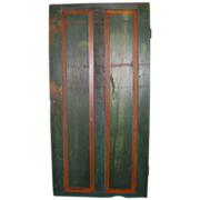Antique Country painted passage door