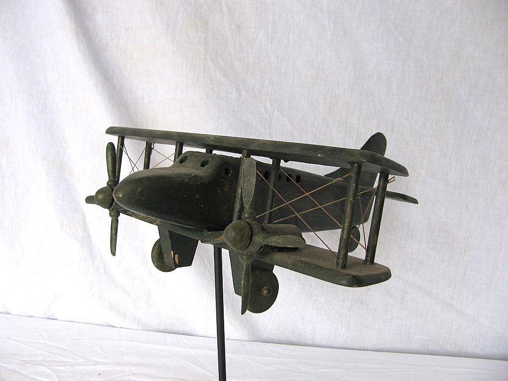airplane whirligig
