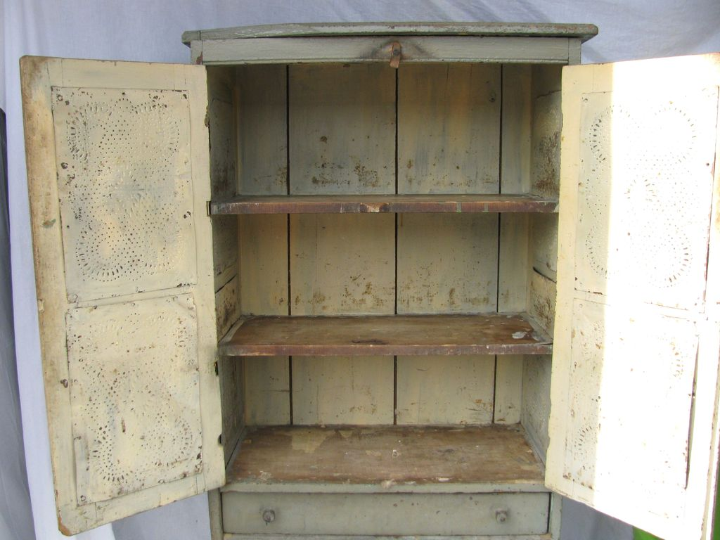 Antique Wooden Pie Safe