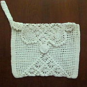 Pretty Crocheted Purse � Lacy and Romantic