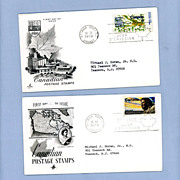Pair of Canadian First Day Covers, 1970, with Ayerst Lab Promotional Letters